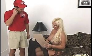 Big breasts cosset gets fucked