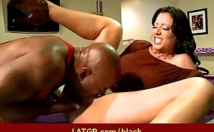 Interracial hard sex Horny MILF beauty gets hard chubby black cock 39