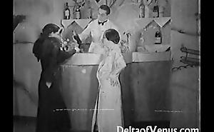 Authentic Vintage Porn 1930s - FFM Triune