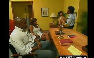 Horny filthy black wife wants to be captivated by in dramatize expunge clinic