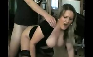 big boobs german milf anal creampied