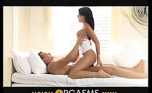 Orgasms Hot sweaty lovers