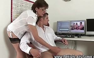 British handjob slut Lady Sonia