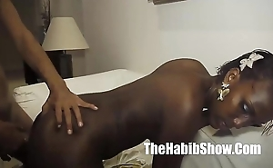Brazilian dark skinned lay about choclate acquires cum swapped