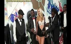 Blonde Entertains a Fix it of Blacks