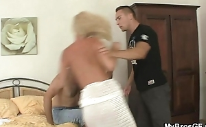 Sexy GF gets busted cheating