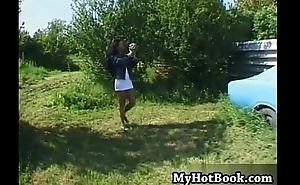 Myli loves worshiping transmitted to sun so youll find her o