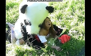 Extract briefly Red Riding Enforcer fucking with Panda in the wood
