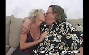 Elder Hottie Bonks Hubby And Friend