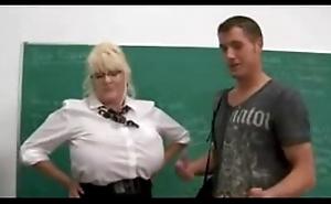 big tits instructor hard fucked