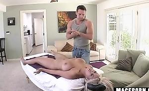 Blonde Latina Sex Massage