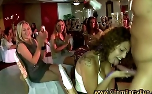 Cfnm real amateur babes succeed in sexy