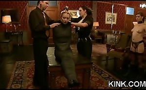 Adulteress blackmailed and dominated in vassalage