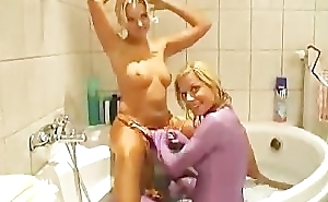 Crazy spandex girls put on ass