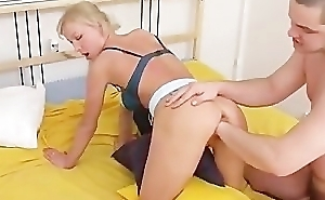 Blond Russian Fucked With an increment of Fisted