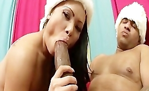 Maya Gets A Lump Of Cock Be required of X-Mas.p4