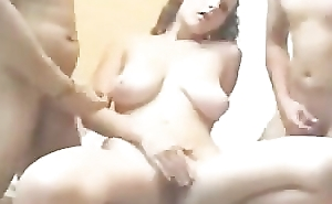 Young Complete Assembly Amateur Chick Gangbanged On Cam
