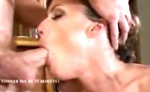 Mrs.Saskia, Hot! 38 yr. old Milf Cheats on husband increased by training tomake porn