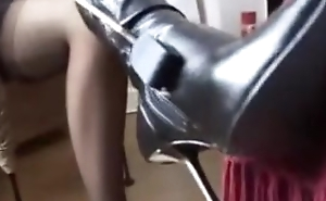 Feathers In Boots Increased by Nylons