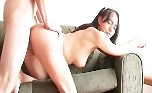 Latina girl showing how amenable this babe is in riding a cock