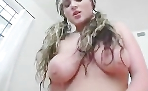 Big tit babe banged on floor - easy porn video