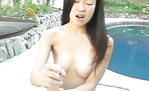 Suck me in my oriental garden