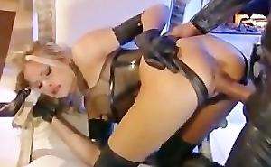 Briana Banks - Latex Fuck forwards Open Fire