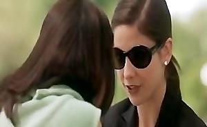 Sarah Michelle Gellar together with Selma Blair Kissing