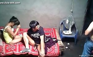 Meddlesomeness chinese panhandler bonking callgirls.19