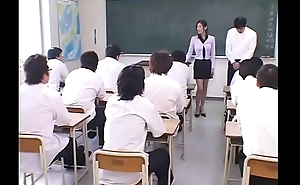Japanese Tutor degraded and Cum covered intensity from their identically Students all near Class
