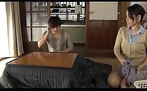 japanese progenitrix makes young gentleman practice sex