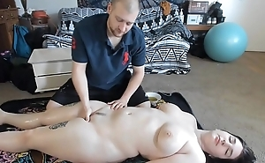 Be thither charge Teen With Unstinted thither an obstacle beam Pain in the neck Gets Sexy Oil Massage