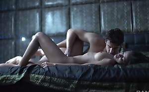 Staggering erotic video with dark-haired whine