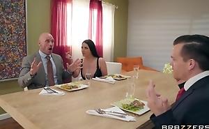 Brazzers Married slut seduced her husband's business partner