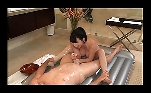 Nuru Massage Have sexual intercourse with Fat Tits MILF Rayveness