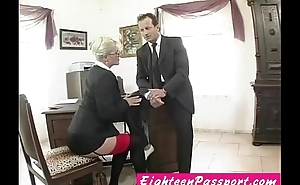 watch this hot office relation