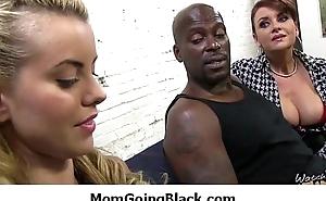 Huge black flannel in my moms wet cunt 19